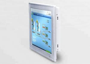 China Fanless Flat Multitouch Panel PC With Aluminum Alloy Tough Enclosure on sale