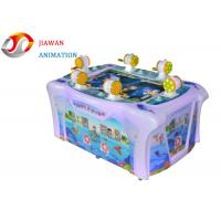 Rotational Moulding Coin Operated Video Game Machines Indoor Happy Fishing Machine