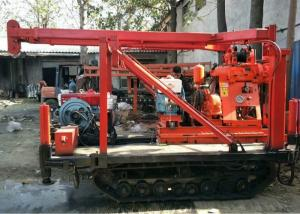 China Home Rock Core Drilling Machine , Hydraulic Rotary Drilling Rig 15KW Power on sale