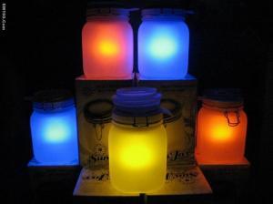 China Glowing Sun Jar Gift on sale