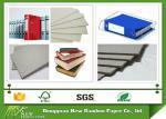 China 1000g Economic and Laminated Uncoated Grey Cardboard Sheets for Folder wholesale