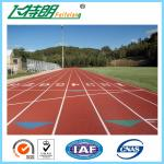 Recyclable 13 MM Synthetic Rubber Flooring / Running Track Material