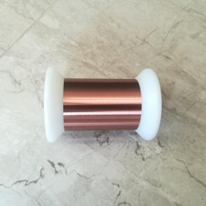 China Low Density Ultra Fine Self Bonding Wire With High Purity Copper Easy Soldering on sale