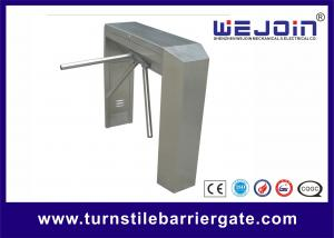 China Double Direction Tripod Turnstile Gate , Access Control Barriers And Gates on sale