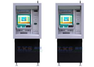 China Through - Wall Payment Terminal Kiosk With Check Cashing ATM Machines on sale