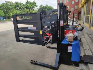 China Customized 24V AC Electric Stacker Truck 1600~4000mm Lifting Height on sale