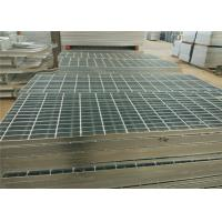 China Custom Steel Catwalk Grating , Hot Dipped Galvanized Paint Booth Floor Grates on sale