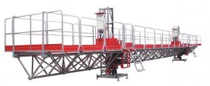 China mast climber / cradle / suspended platform on sale