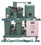 A máquina usada China SUPERIOR do tratamento do óleo lubrificante, filtrando, pode obter o bom óleo hidráulico novo, material de aço inoxidável