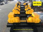 Hydraulic Tank Fit Up Rolls For Wind Tower Production Pipe Fit Up Growing Line
