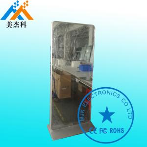 China Floor Standing 49 Inch Magic Digital Mirror Advertising Digital Bathroom Mirror on sale