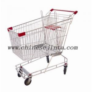 China Supermarket shopping trolley on sale