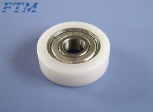 China 608 zz wheel roller bearing nylon plastic bearing to window door and pulley on sale
