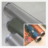 Fabric Nickel Screen Accurate Textile Rotary Screen Printing 195M