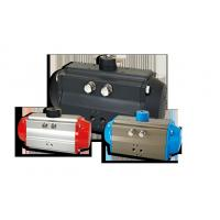 China Fluitech Rotary Rack And Pinion Valve Actuator , Double Acting Pneumatic Piston Actuator on sale
