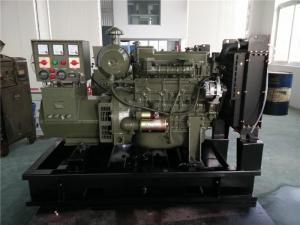 Quality 4 Cylinder Open Type Diesel Generator 10KW , 13.5KVA Diesel Electric Generator for sale