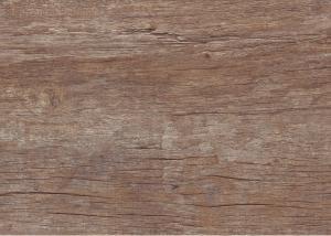 China 台所装飾のための素晴らしい汚れ/酸減少の木製のプラスチック フロアーリング on sale