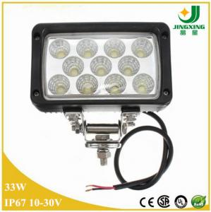 China 33W CREE LED work Light for off-road JEEP SUV, ATV 4X4 tractor light on sale