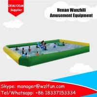 Top Quality Inflatables Manufacturer Square Family Inflatable Water Pool For Kids