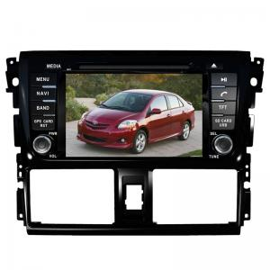 China Car dvd player navi TOYOTA GPS Navigation with dvd gps radio Vios Yaris on sale