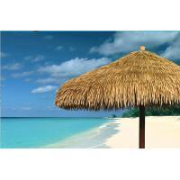 synthetic rayon raffia beach umbrella