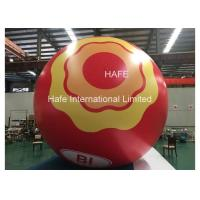 Custom Led Inflatable Helium Balloon Lights , Moon Light Ball Print Logo