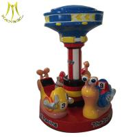 Hansel  amusement park coin operated fiberglass carousel used merry go rounds for sale