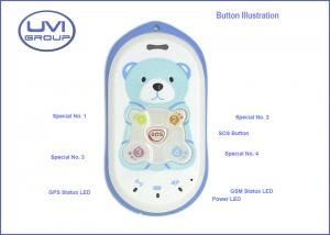 China PT301 Plastic Cover Cute GSM / GPRS Plastic Cover GPS Cell Phone Trackers for Kids / Child on sale