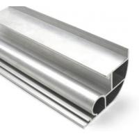 Silvery Anodized  6061 Aluminum Profile Aluminum Extrusion Profile  With Drilling / Cutting