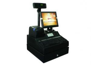 China 12 Inch Screen Point Of Sale Systems For Retail , Restaurant Pos Systems DDRⅢ 2GB Memory on sale