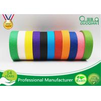 Crepe Paper Colored Duck Masking Tape For Painting Water Resistant