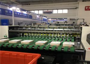 Quality High Speed / High Pressure Automatic Die Cutter Full Stripping For Paper Bag for sale