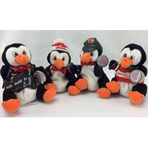 Beautiful Penguin Stuffed Animal , Stuffed Animal Christmas Ornaments For Celebrate Party