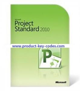 China Microsoft Office Product Key Codes For Microsoft Project Professional 2010 on sale