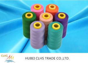 China 40/2 5000m Dyed 100 Spun Polyester Sewing Thread For T-Shirts Dresses Sportswear on sale