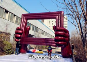 China 10m Inflatable Frame Building for Music Festival, Concert and Stage Decoration on sale