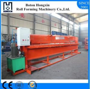 China Aluminum Profile Hydraulic Shearing Machine Hydraulic Pump 4m Width Panel Suit on sale
