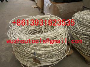 China braided ropes Colorful braided rope Double braided nylon rope on sale