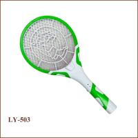 Rechargeable mosquito fly swatter safe mosuqito bat and bug zapper with safe and good quality
