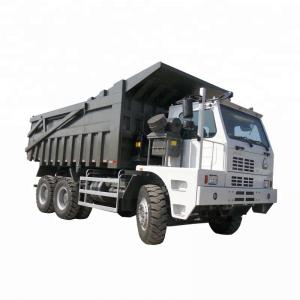 China 10 Wheels King Mining Dump Truck 371HP Euro 2 61 - 70t Load Capacity on sale