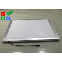 Low Flickering LED Snap Frame Light Box 30mm Frame Width For Display Rack Top