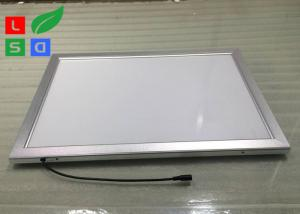 China Low Flickering LED Snap Frame Light Box 30mm Frame Width For Display Rack Top on sale