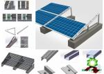 Aluminum Flat Roof Solar Mounting System  Bracket home power solar system   for solar energy         solar home system