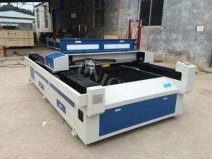 China Sheet metal laser cutting machine  / co2 laser cutters for metal , Leather , cloth on sale