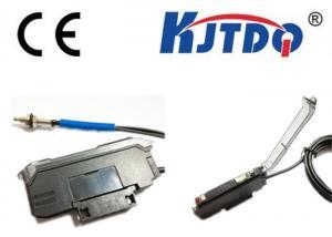 China Fiber Optic Temperature Sensor , Photocell Sensor Switch 660nm Red Visible Light on sale