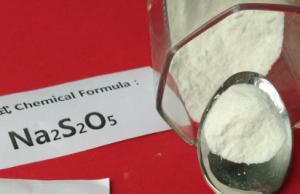 China Sodium Metabisulfite white dry powder, Wine Making Food Grade 97% Purity Na2S2O5 on sale