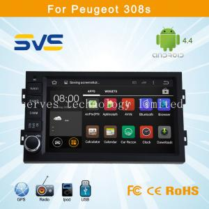 China Android 4.4 car dvd player GPS navigation for Peugeot 308S with BT TV USB Ipod car radio on sale