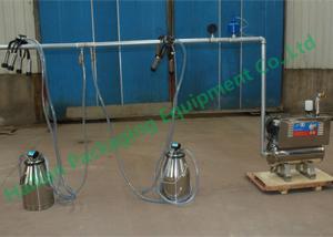 China 酪農場の機械類の真空ポンプのヒツジのバケツの搾り出す機械吸引のミルク on sale