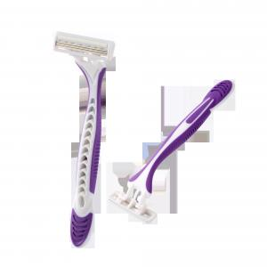 China Twin Stainless Steel Blade Men's Disposable Razors For Face Cleansing on sale