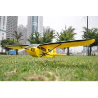 China 2.4Ghz 4ch Mini Piper J3 Cub Radio Controlled Airplane EPO brushless on sale